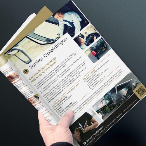 Magazine Mockup Jonker Opleidingen